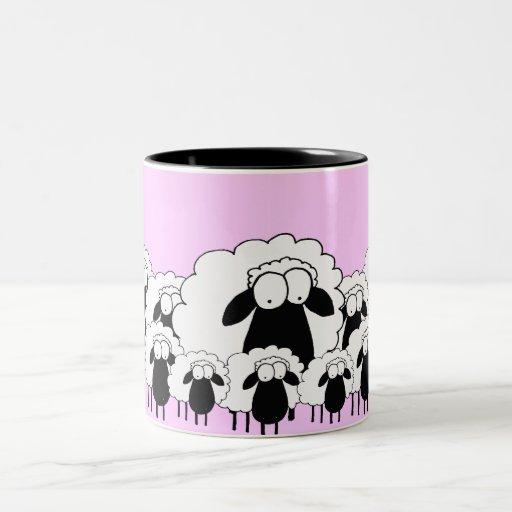 Schafe Tee Tassen