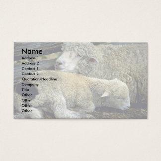 Schafe Visitenkarte