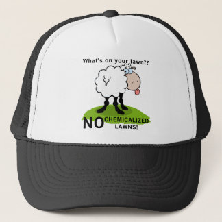 Schafe, was auf Ihren Rasen-T - Shirts und Truckerkappe