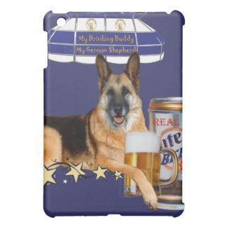 Schäferhund-Anteil ein Bier IPAD HÄUTE iPad Mini Hülle