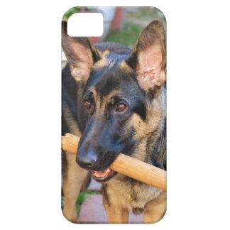 Schäferhund durch Shirley Taylor iPhone 5 Hülle