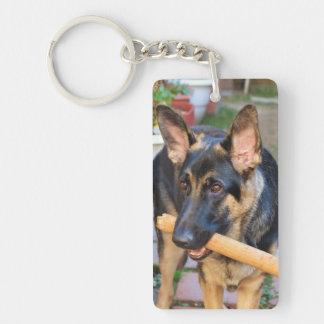 Schäferhund durch Shirley Taylor Schlüsselanhänger