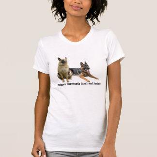 Schäferhund-Freund-Damen-Shirt T-Shirt