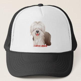 Schäferhund-Geschenk-Baseball-Mütze Truckerkappe