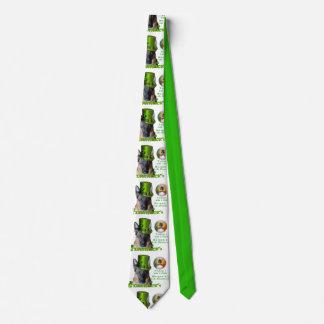 Schäferhund-Heiligen Patrick Tag Krawatte