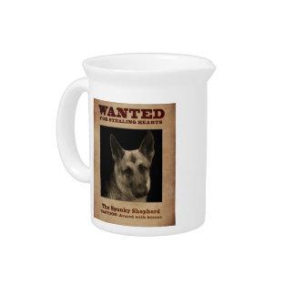 Schäferhund-Hund Krug