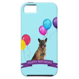 Schäferhund-Hundealles Gute zum Geburtstag iPhone 5 Case