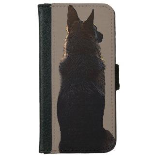 Schäferhund iPhone Geldbörsen-Kasten Geldbeutel Hülle Für Das iPhone 6/6s