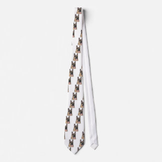 Schäferhund Krawatte