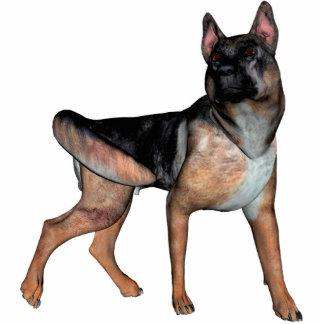 Schäferhund KRW Freistehende Fotoskulptur