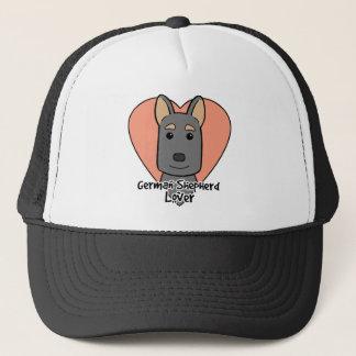 Schäferhund-Liebhaber Truckerkappe