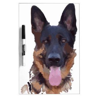 Schäferhund Memoboard