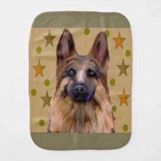Schäferhund-Soldat-Kunst Spucktuch