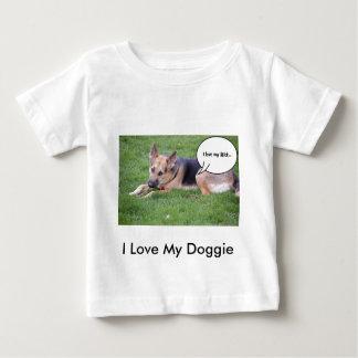 Schäferhund-Spaß Baby T-shirt