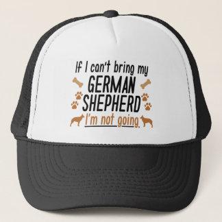 Schäferhund Truckerkappe