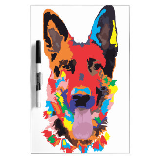 Schäferhundfarbe Memoboard