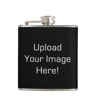 Schaffen-Ihr-Eigene Foto-Antriebskraft-rostfreier Flachmann
