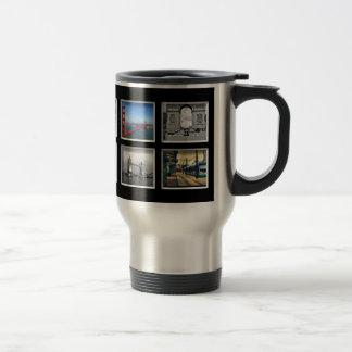 Schaffen-Ihr-Eigene Foto-Collagen-Reise-Tasse Edelstahl Thermotasse