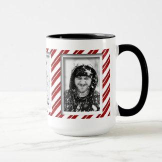 Schaffen-Ihr-Eigene Zuckerstange-gestreifte Tasse