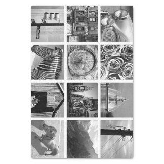 Schaffen-Ihr-Eigenes Foto-Collagen-Seidenpapier Seidenpapier