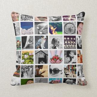 Schaffen-Ihr-Eigenes Foto-Collagethrow-Kissen Kissen