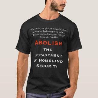 Schaffen Sie die Abteilung der heimat-Sicherheit T-Shirt