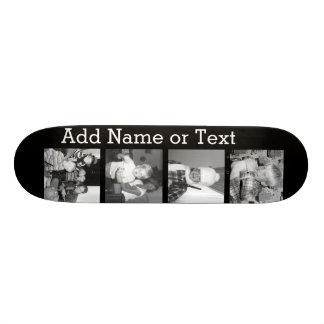 Schaffen Sie eine Instagram Collage mit 4 Fotos - Skate Board