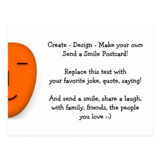 Schaffen Sie - Entwurf - machen Ihr, eine Postkarte