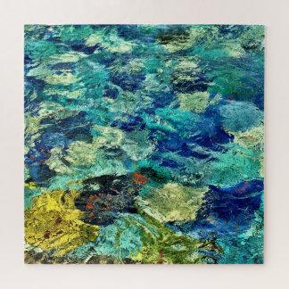 Schaffen Sie Ihr eigenes abstraktes Kunst-Quadrat Puzzle