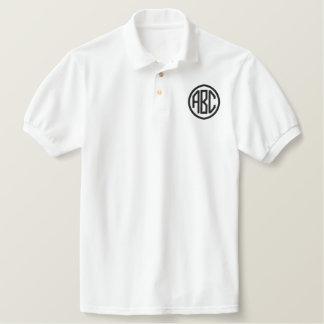 Schaffen Sie Ihr eigenes gesticktes Monogramm-Polo Besticktes Polo Shirt
