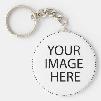 Schaffen Sie Ihr eigenes Keychain Standard Runder Schlüsselanhänger