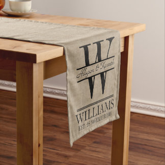 Schaffen Sie Ihr eigenes Kurzer Tischläufer