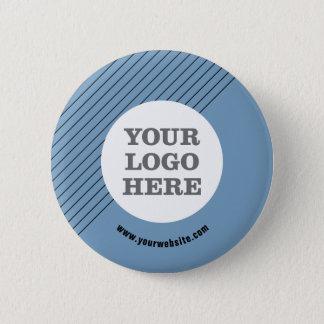 Schaffen Sie Ihr eigenes Logo Runder Button 5,7 Cm
