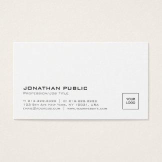 Schaffen Sie Ihr eigenes moderne Visitenkarte