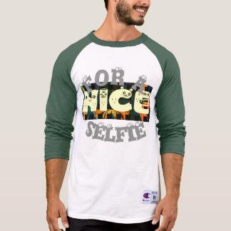 Schaffen Sie Ihr eigenes Nizza haben einen schönen T-Shirt