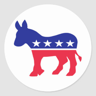 Schaffen Sie Ihr eigenes politisches Runder Aufkleber