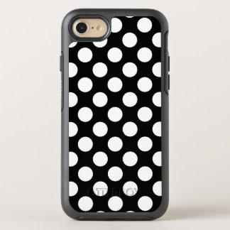 Schaffen Sie Ihr eigenes weißes Tupfen-Muster OtterBox Symmetry iPhone 8/7 Hülle