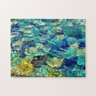 Schaffen Sie Ihre eigene abstrakte Kunst 11 x 14 Puzzle