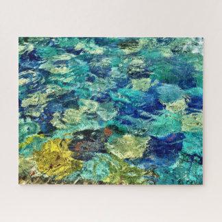 Schaffen Sie Ihre eigene abstrakte Kunst 16 x 20 Puzzle