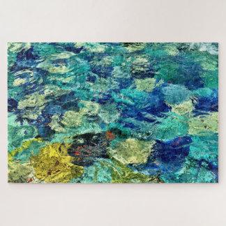 Schaffen Sie Ihre eigene abstrakte Kunst 20 x 30 Puzzle
