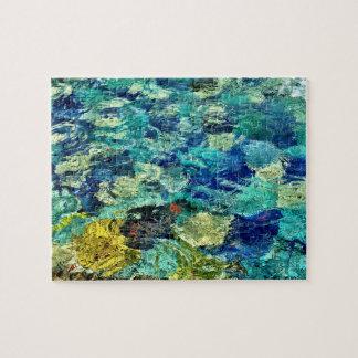 Schaffen Sie Ihre eigene abstrakte Kunst 8 x 10 Puzzle