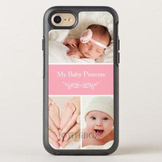Schaffen Sie Ihre eigene Baby-Foto-Collage OtterBox Symmetry iPhone 8/7 Hülle
