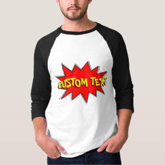 Schaffen Sie Ihre eigene Comic-Buch-solider T-Shirt
