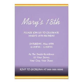 Schaffen Sie Ihre eigene Geburtstags-Einladung 12,7 X 17,8 Cm Einladungskarte