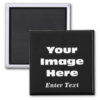 Schaffen Sie Ihre eigene Geschenk-Schablone Quadratischer Magnet