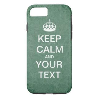 """Schaffen Sie Ihre eigene Gewohnheit """"behalten Ruhe iPhone 8/7 Hülle"""