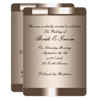 Schaffen Sie Ihre eigene Hochzeits-Einladung 2 Karte