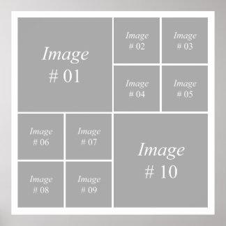 Schaffen Sie Ihre eigene Instagram Fotosammlung Poster
