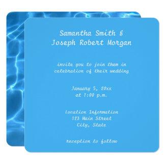 Schaffen Sie Ihre eigene Quadratische 13,3 Cm Einladungskarte
