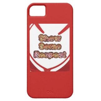 Schaffen Sie Ihre eigene rote Show etwas Respekt Barely There iPhone 5 Hülle
